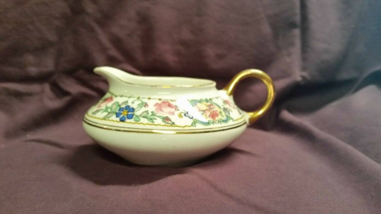 Pope Gosser D-21 Multi-Colored Floral Creamer Made in the USA