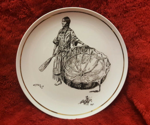"Russell Young ""Sioux Squaw"" Plate No. 11 of 15, Great Falls Montana"