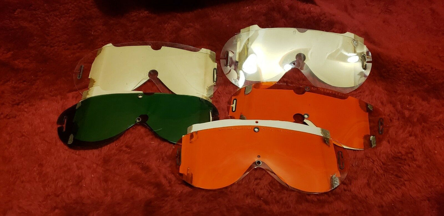 Polaroid Flying AAF Type B-8 Goggles - Original Box & 5 Sets of Spare Lenses