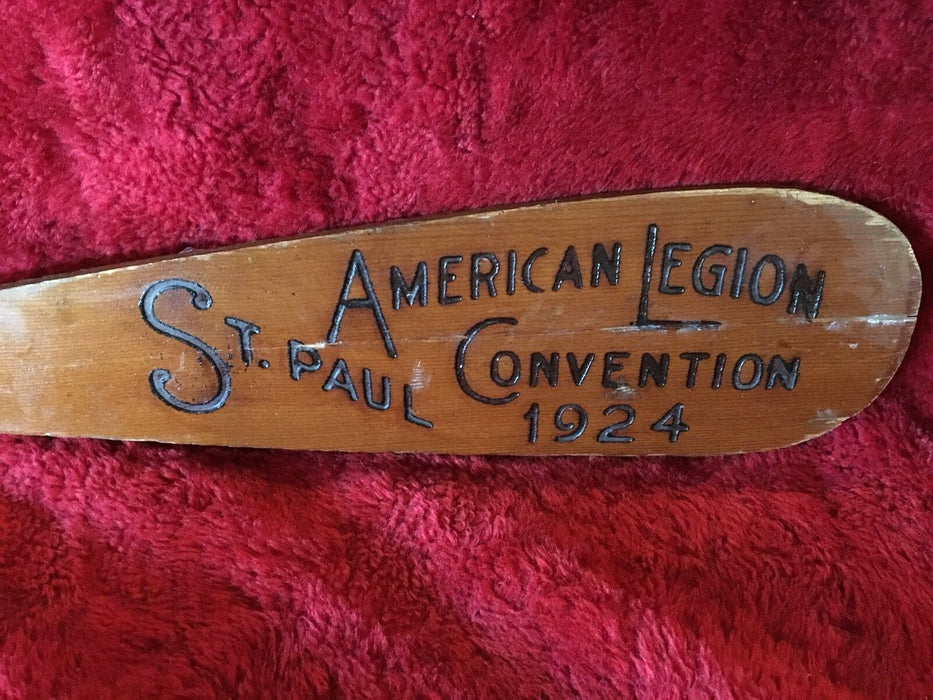 1924 American Legion Convention St. Paul Minnesota Land Of 10,000 Lakes Paddle