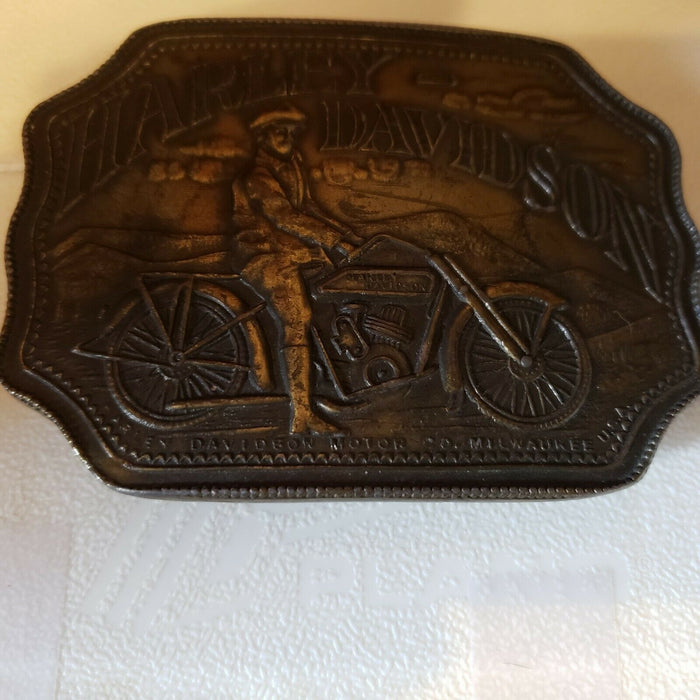 Harley Davidson Belt Buckle Indiana Metal Craft