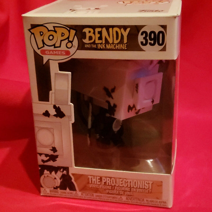 Funko Pop Games Bendy and The Ink Machine Projectionist Figure #390