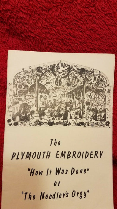 3 Guild Hall Embroidery Plymouth Congregational Church Postcards 2 How Booklets
