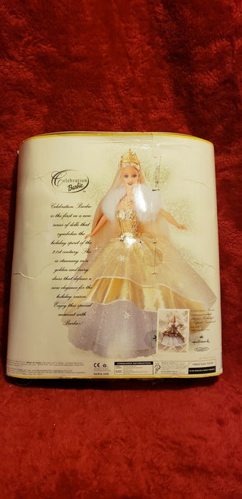 Celebration Barbie Special 2000 Edition Barbie Doll Mattel #28269 Gold Package