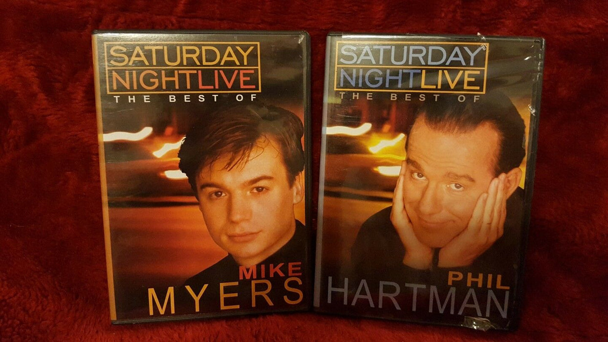 LOT 2 (DVD)s, SNL Best Of...Saturday Night Live -Mike Myers & Phil Hartman