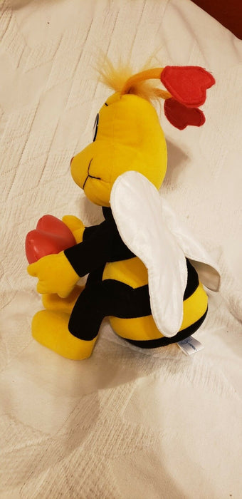 Toy Network BumbleBee Heart Bee Mine, Plush Stuffed Animal 13""