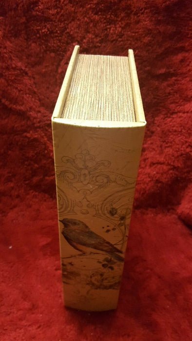 Bird Library Look False Book Storage Box Hideaway Book