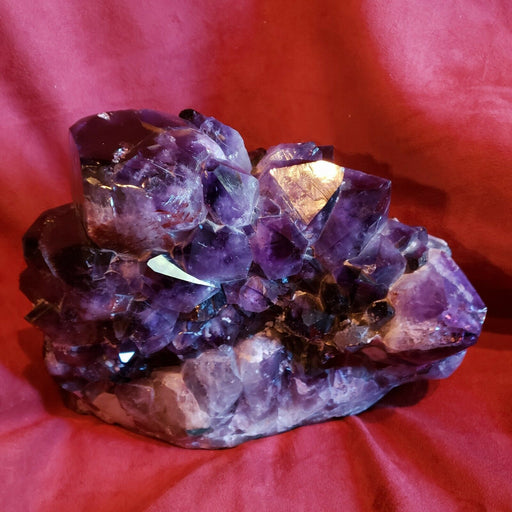 19LB Rare Natural Jewelry Grade Amethyst Italian Alps Grade A Color