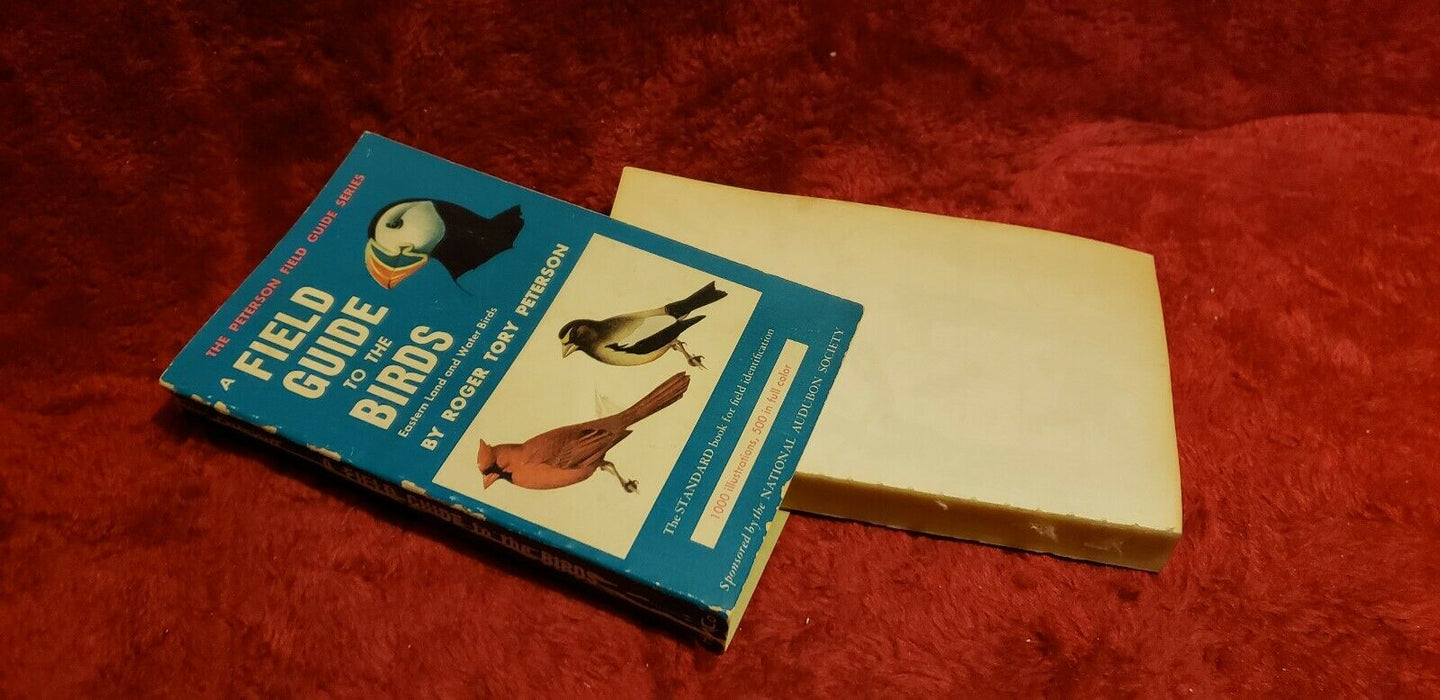 A Field Guide to the Birds Eastern Land & Water Birds Roger Tory Peterson 1947