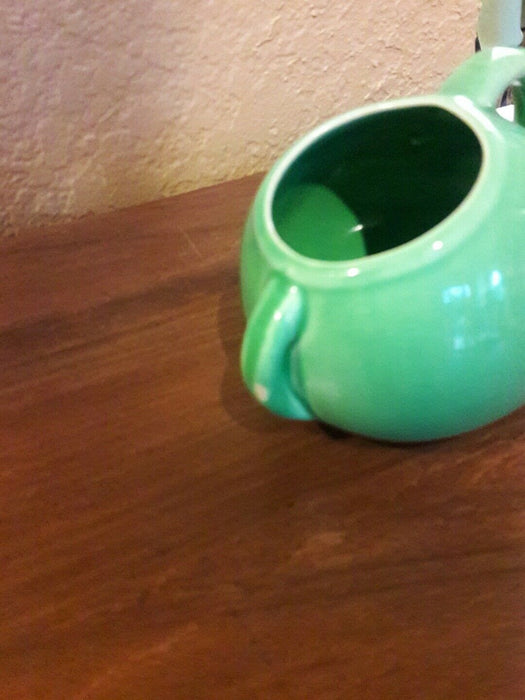 Vintage Green pottery...What-not-pot! SO CUTE!