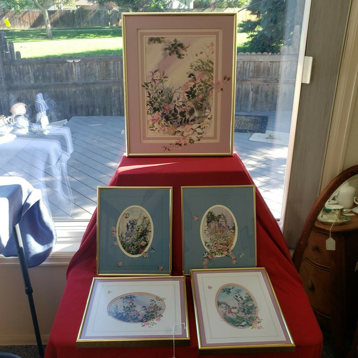 Lot 5: Mary Ann T. Davis Lithograph-COA- Matted/Framed/Signed