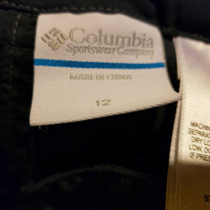 Boys Or Girls Columbia Omni-Shade Convertible Slate Blue Cargo Pants Size 12