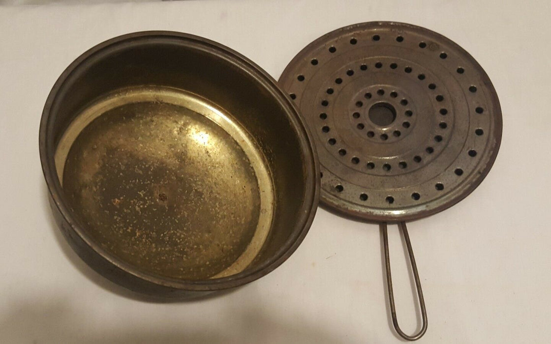 Popcorn Popper - Antique - Metal Stove Campfire Rusty Decor