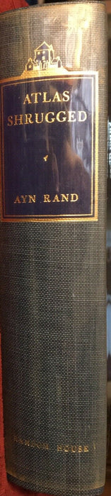 Atlas Shrugged by AYN RAND ~ Signed Limited 10th Anniversary Edition 116/2000