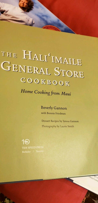 Lot 3:  The Hali'imaile General Store Cookbook, Tom Douglas' Seattle, Beer Compa
