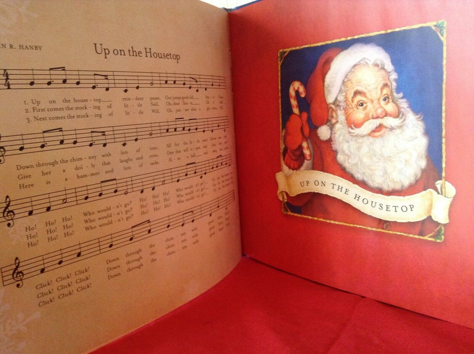 Stories of Santa Up on the Housetop Jolly Old St. Nicholas, Hallmark Songs