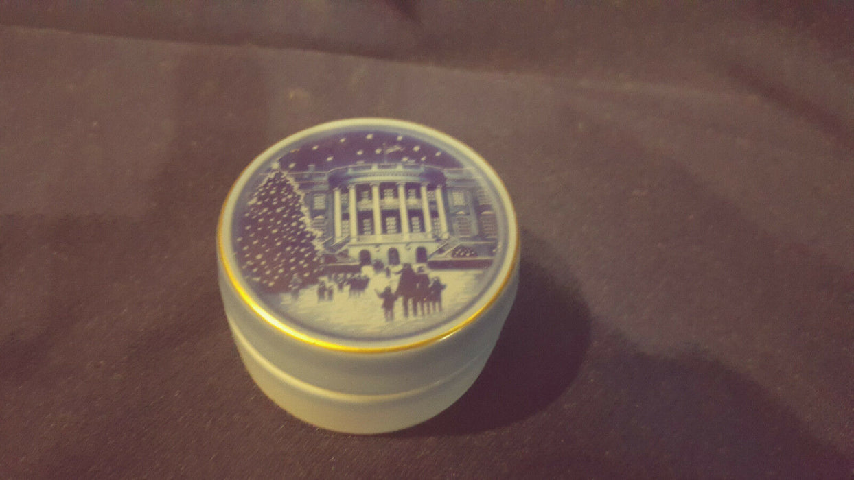 B&G Bing & Grandahl The White House Trinket Box Limited Edition to 5,000