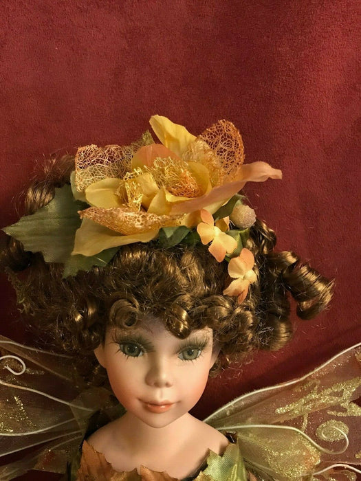 Beautiful Fairy Porcelain Doll-Limited Edition Collectible Porcelain Doll New