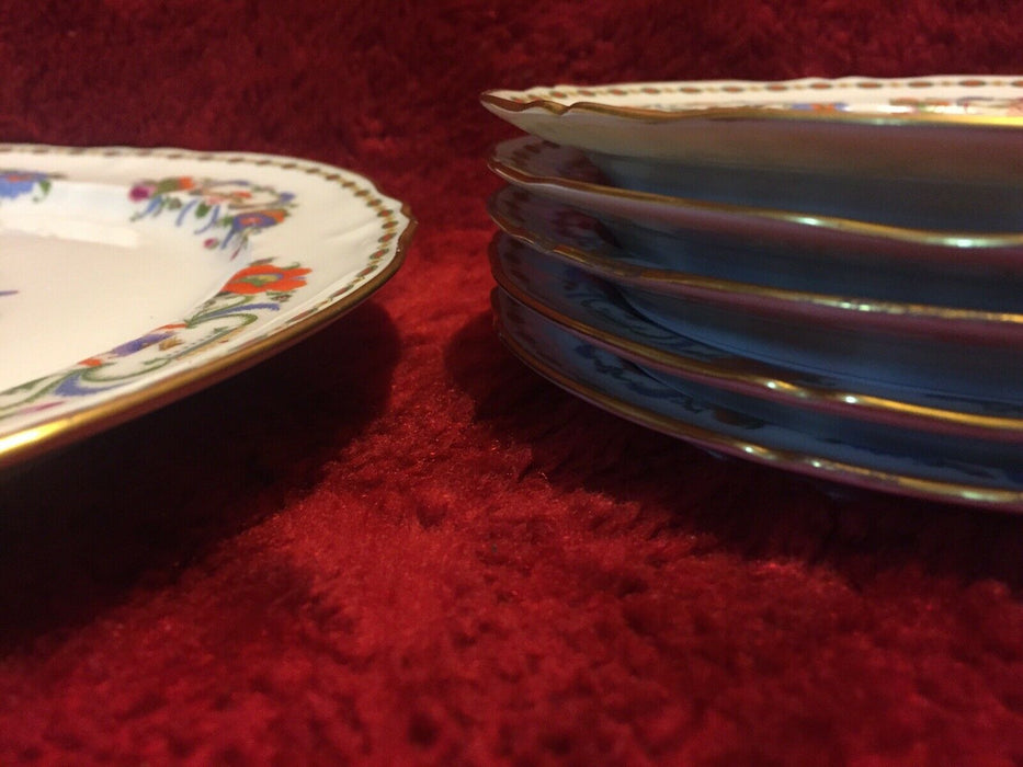 Lot 8: Reynaud Limoges Collection Damon Dinner & Bread Plate Vieux Chine Pattern