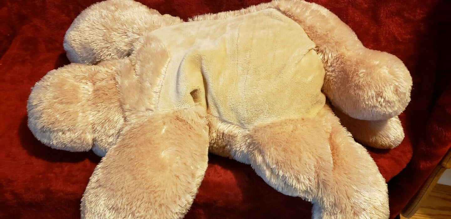 "*Large* Animal Adventure Puppy Dog 30"" Plush Brown Tan Taupe 2015"