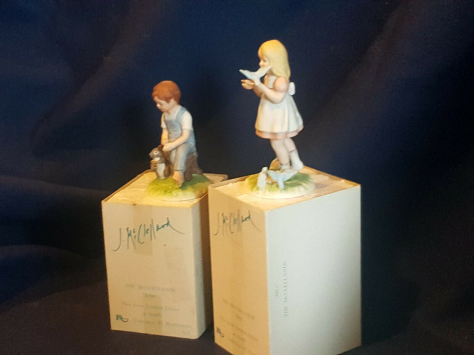 "The McClellands ""John"" and ""Alice"" First Issue Limited Edition of 10,000 1980"