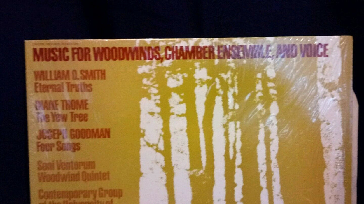 MUSIC FOR WOODWINDS, CHAMBER ENSEMBLE, AND VOICE-NM1982LP DIANE THOME