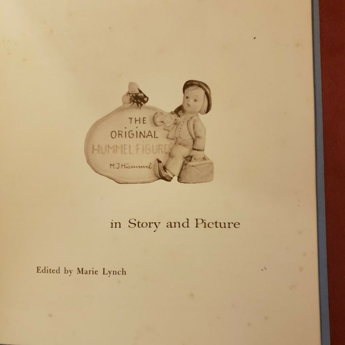 1st Edition The Original Hummel Figures Book in Story and Pictures 1955