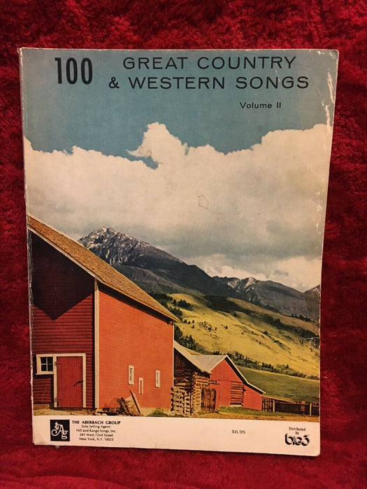Lot of 2: Spectacular 85 - 100 Great Country & Western Songs, Vol. 2 Piano Book