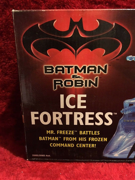 Vintage Original Batman & Robin Ice Fortress/Ice Disk Launcher & Firing Missiles