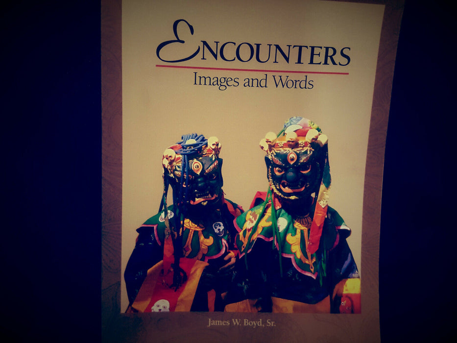 Encounters: Images & Words... Life Journey Explored Autobiographical