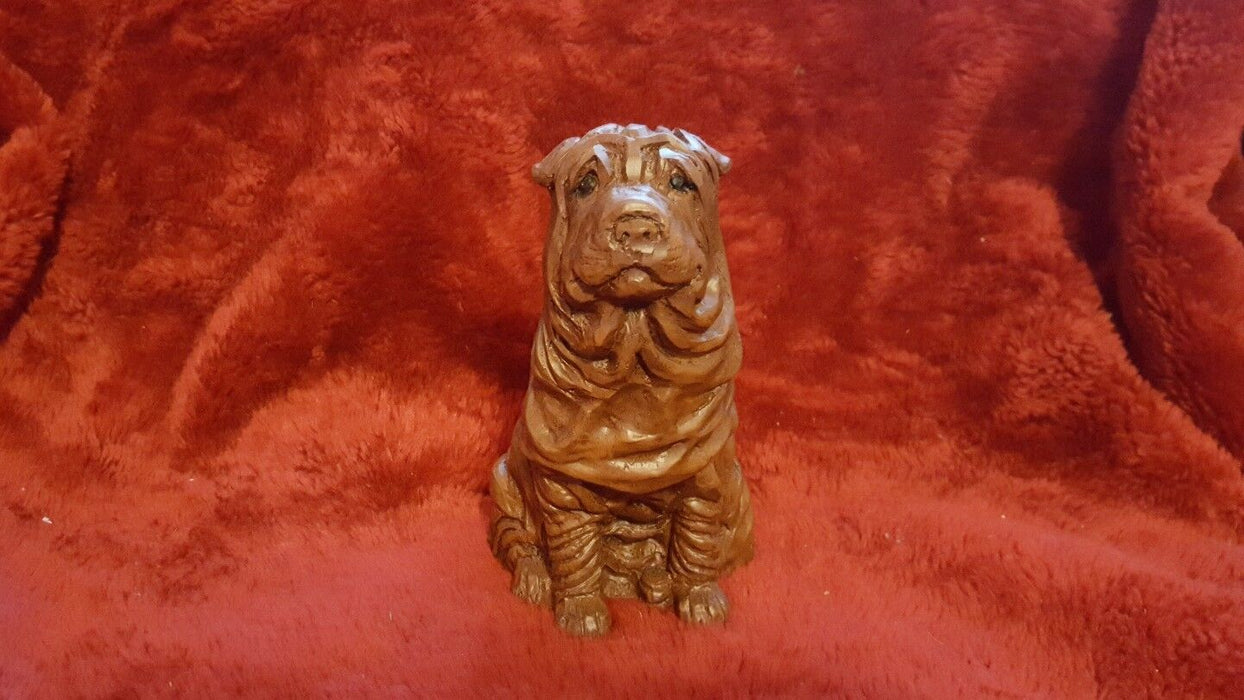 Red Mill Mfg. Mastiff or Other Wrinkled Dog with Original Sticker, 1994 #404