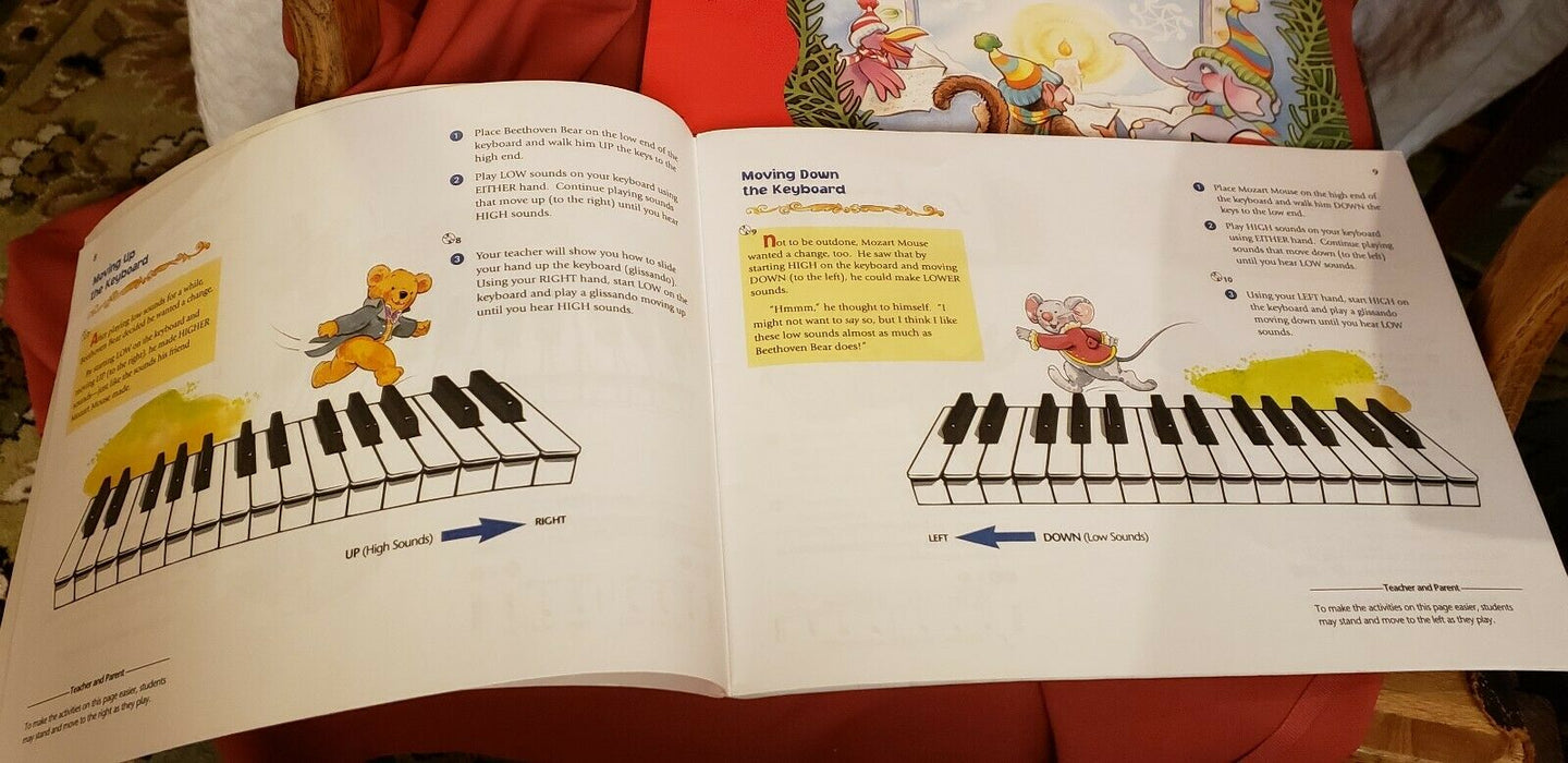 "ALFRED ""MUSIC FOR LITTLE MOZARTS"" Book 1 & Bastiens' Pre-Reading Christmas Party"