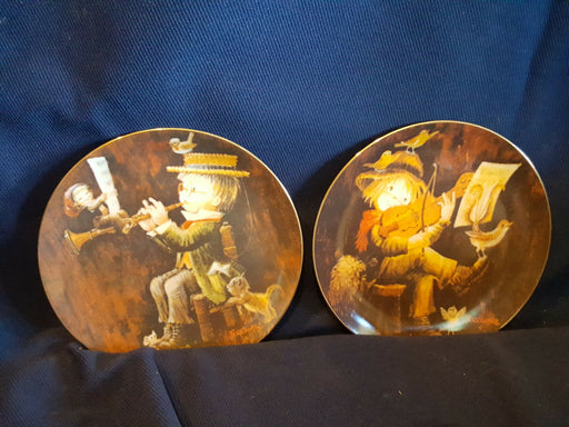 Lot 2 Magical Medley & Sweet Serenade by Ferrandiz Music Makers Collector Plates