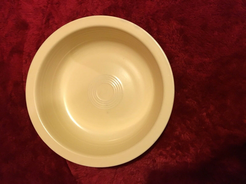 Fiesta Ware Round Vegetable Serving Bowl Yellow Discontinued HLC USA