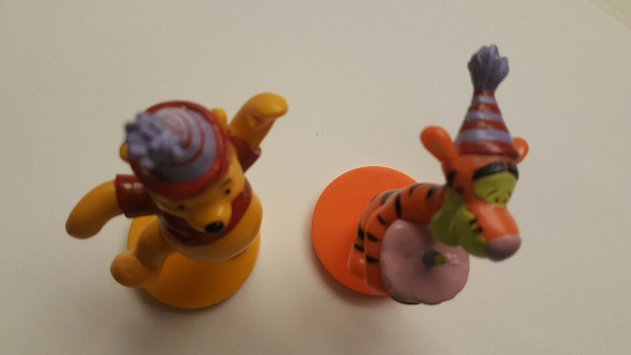 Lot 2:Disney Winnie the Pooh Tigger Applause Decopac Cake Toppers Birthday Party