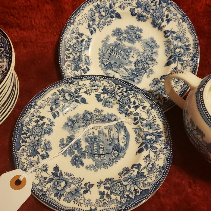 Set 20: Dishes Tonquin Royal Staffordshire-Clarice Cliff, Made in England