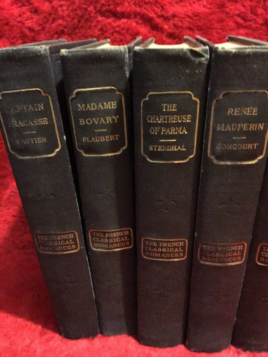 Lot of 16: Antique Book::The French Classical Romances 1901-02