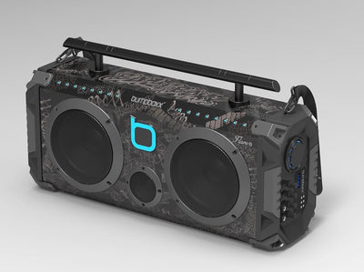 Bumpboxx Flare8 Bluetooth Boombox - Black Graffiti - Bumpboxx Europe