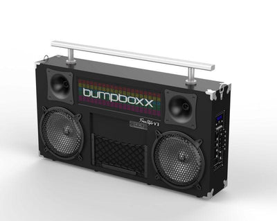 BUMPBOXX FREESTYLE V3S BLUETOOTH BOOMBOX - BLACK - Bumpboxx Europe