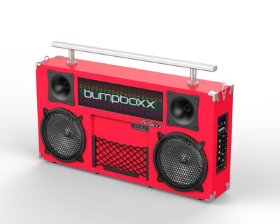 BUMPBOXX FREESTYLE V3S BLUETOOTH BOOMBOX - RED - Bumpboxx Europe