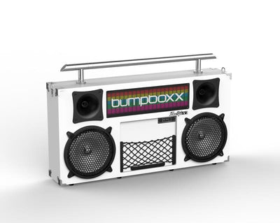 BUMPBOXX FREESTYLE V3S BLUETOOTH BOOMBOX - WHITE - Bumpboxx Europe