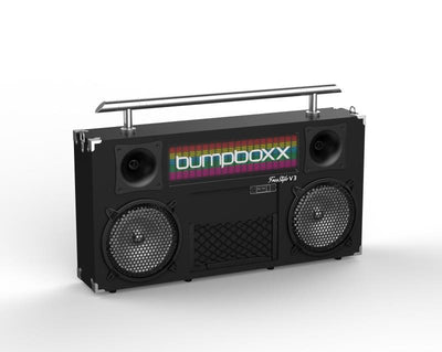 Bumpboxx FreeStyle V3S - (Black) - Bumpboxx Europe