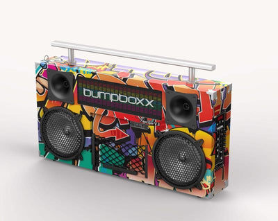 BUMPBOXX FREESTYLE V3S BLUETOOTH BOOMBOX - NYC GRAFFITI - Bumpboxx Europe