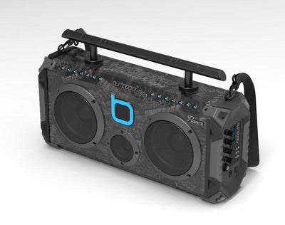 Bumpboxx Flare6 Bluetooth Boombox - Black Graffiti - Bumpboxx Europe
