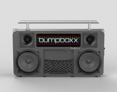 BUMPBOXX FREESTYLE V3S BLUETOOTH BOOMBOX - CARBON FIBER - Bumpboxx Europe