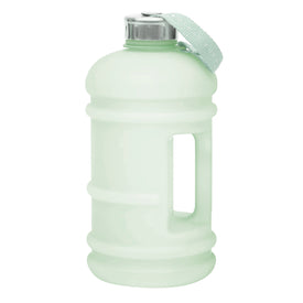 Mint green 2.2 litre reusable water bottle