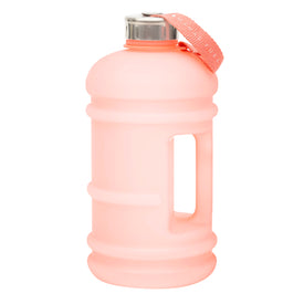 Peach 2.2 litre reusable water bottle