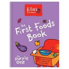 Ellas Kitchen weaning Purple book
