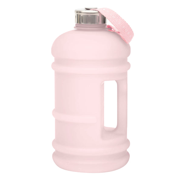 Reusable Big Water Bottle Pastel Pink