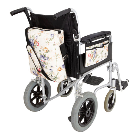 wheelchair backpack and armrest